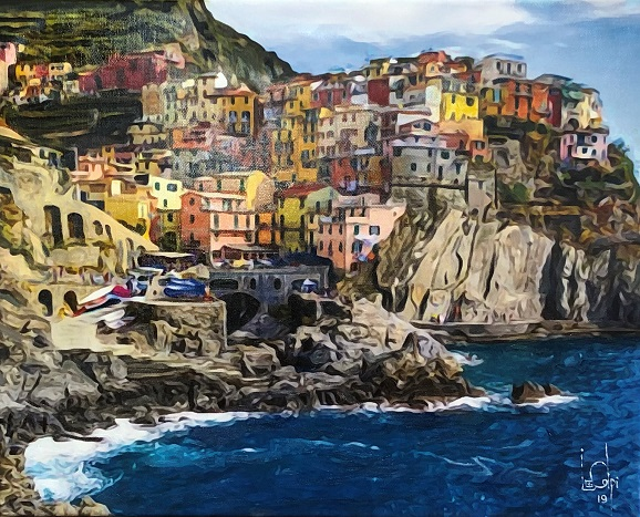 Sorry, a visual representation of Lee Colpi's work entitled, Cinque Terre, Northern Italy failed to load.  Please try again later or contact Lee Colpi for more information about this work.