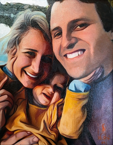 Sorry, a visual representation of Lee Colpi's work entitled, Family Selfie failed to load.  Please try again later or contact Lee Colpi for more information about this work.