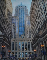 larger image of the work, Chicago Board of Trade
