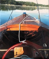larger image of the work, 1952 Chris Craft Riviera