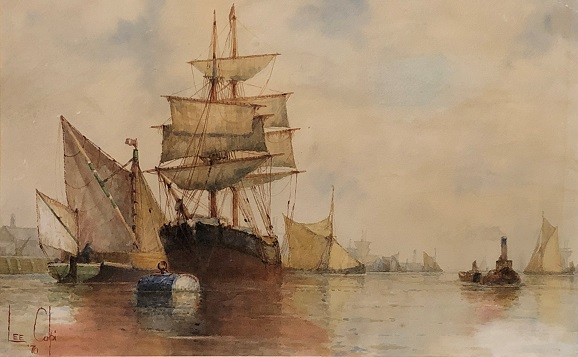 larger image of the work, Harbor View