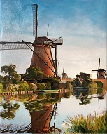 larger image of the work, Kinderdijk, Netherlands