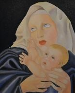 larger image of the work, Madonna and Child