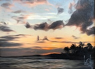 larger image of the work, Maui Sunset