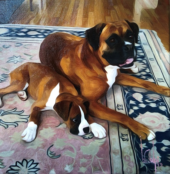 larger image of the work, Rosco and Wrigley