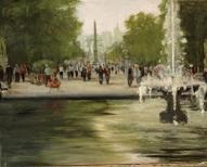 larger image of the work, Tuileries Garden